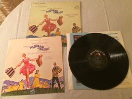 1965 The Sound of Music Vinyl LP Record RCA Victor LOCD-2005 Booklet & S... - $27.90