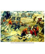 """WAR of 1812, Queenston Heights """"Death of Brock"""" 13  x 10 in GICLEE CANV... - $19.95"""