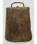 Antique 19th Century Wrought Iron Western Cowbell Dinner - $19.79