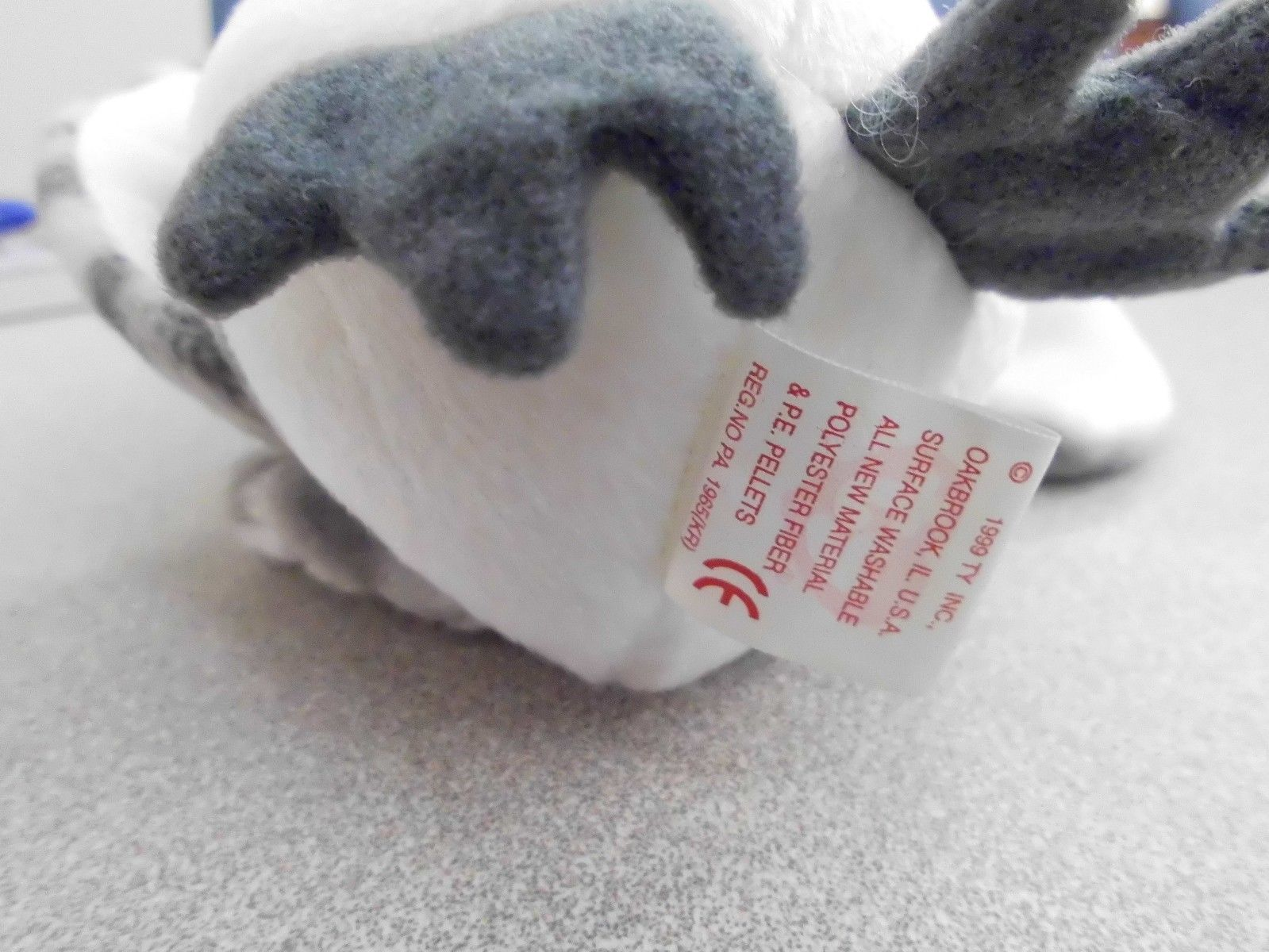 Ty Beanie Babies Wiser the Owl no swingtag image 6