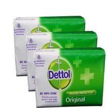 Dettol Org Soap 3*125G Offer Pack [Health and Beauty] - $16.98