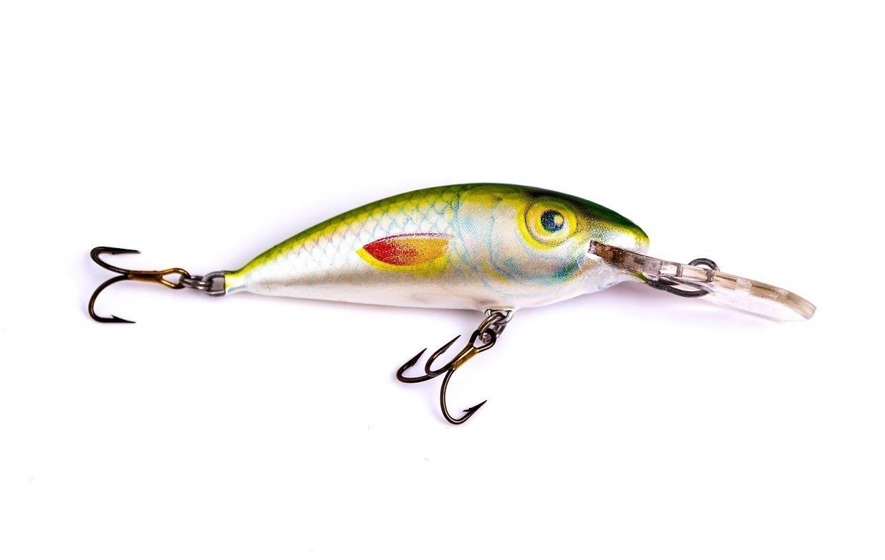 4 pcs ugly duckling fishing lures balsa wood 2 early for Spring bass fishing