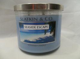 Bath & Body Works Slatkin & Co Seaside Escape Scented Candle 14.5oz/411 ... - €52,84 EUR
