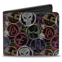 Wallet - Marvel Comics Marvel Knights Weathered Logo Bi-Fold - $17.99