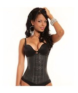 ANN CHERY 2025 / ANN MICHELLE 2025, BLACK LATEX CINCHER, COLOMBIAN -SIZE... - $48.98