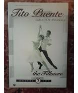 MINT TITO PUENTE 1997  FILLMORE POSTER - $25.99