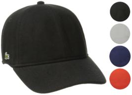Lacoste Men's Classic Baseball Premium Cotton Pique Croc Logo Hat Cap RK0123-51