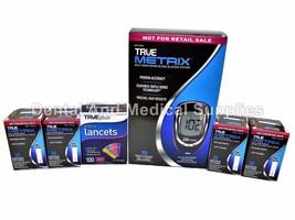 200 True Metrix Test Strips Exp 2019++100 33G Lancets+Free Truemetrix Meter - $37.61