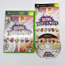 Ultra Bust-A-Move (Microsoft Xbox, 2004) Puzzle Game Complete w/ Manual CIB - $9.85