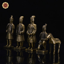WR Eighth Wonder of the World Terra Cotta Warriors crafting iron Copper ... - $64.81