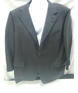 Canali Mens Jacket 46R  Blue/Tan Checkered  - $28.69