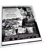 1998 BESIEGED Movie 8.5x11 Thandie Newton AD SLICK Advertising Promo Sheet - $9.49