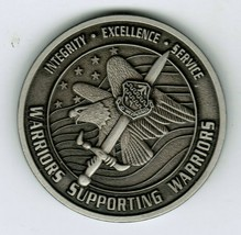 AFTC Challenge Coin Air Force Test Center Camp Corum Certified Warrior 1 Star - $40.00