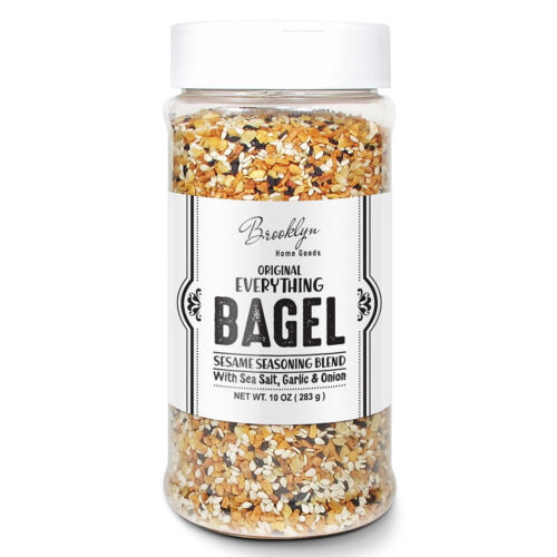 XL 10 oz Bottle Everything Bagel Sesame Seasoning Blend Sea Salt, Garlic & Onion - $19.79