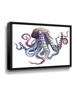 'Octopus' By Sam Nagel Framed Canvas Wall Art - $83.99
