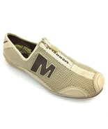 """MERRELL """"Arabesque"""" Taupe Mesh & Leather Athletic Casual Comfort Zip Sho... - $24.74"""