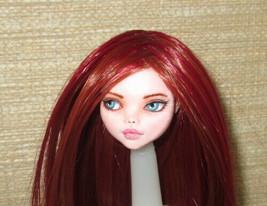 OOAK Repaint Custom Art Monster High Ever After Draculaura Doll Head Wig... - $35.64