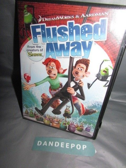 Flushed Away (DVD, 2007, Widescreen Sensormatic) - DVD, HD ...