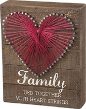 Primitives by Kathy String Art Sign, Family - $13.65