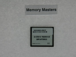 MEM2800-256CF 256MB Approved Compact Flash Memory for 2800 2801 2811 2821 2851