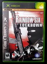 Tom Clancy's Rainbow Six: Lockdown (Microsoft Xbox, 2005)  - $4.99