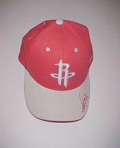Yao Ming #11 Houston Rockets NBA Adult Unisex Embroidered Facsimile Red Cap New - $24.74
