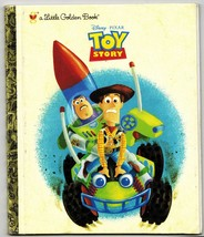 2009 Disney Pixar Toy Story Woody Buzz Lightyear 1st Ed HC Little Golden... - $14.99