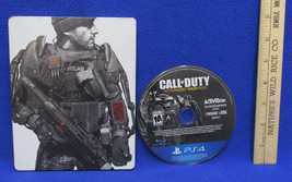 Call Of Duty Advanced Warfare PS4 Video Game Disc Original Case Rated M  - $23.50