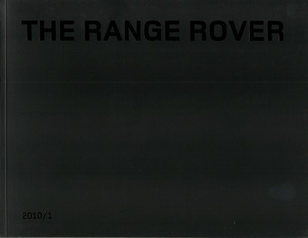 2010 Land Rover RANGE ROVER sales brochure catalog US 10 Supercharged