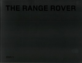 2010 Land Rover RANGE ROVER sales brochure catalog US 10 Supercharged - $12.00