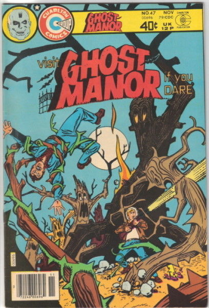 Primary image for Ghost Manor Comic 2nd Series #47, Charlton Comics 1979 VERY FINE-