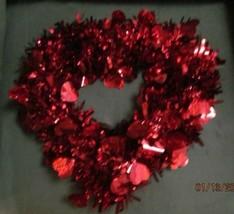 Heart Shaped Valentine Garland Wreath - $10.00