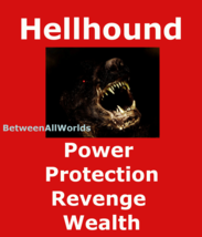 hkml Spr Alpha Hellhound Demon Of Power Protection Revenge & Wealth Luck... - $124.50