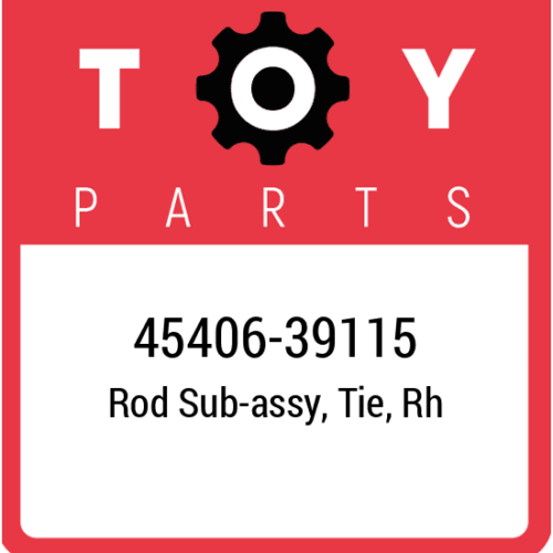 45406-39115 Toyota Rod, New Genuine OEM Part