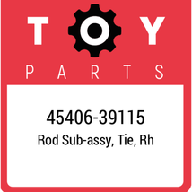 45406-39115 Toyota Rod, New Genuine OEM Part - $42.65
