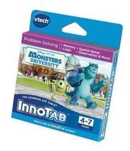 Vtech Innotab Software Monsters University Disney Pixar - Game Cartridge - NEW - $27.94