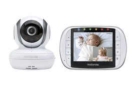 Remote Wireless Video Baby Monitor Motorola MBP36S 3.5-Inch Color LCD Sc... - $158.83