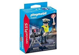 Playmobil Special Plus Police Officer with Speed Trap Building Set 70305 - $14.99