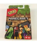 Minecraft Card Game UNO Fun Family & Friends Card Game Minecraft Fan Pla... - $11.87