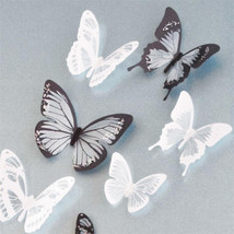 Crystal 18Pcs 3D Butterflies DIY home decor wall stickers ids room Chris... - $6.99