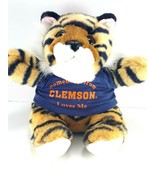 Clemson University Plush Teddy Bear Football Somebody in Clemson Loves M... - $13.85