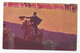 Spain Madrid Bullfighter Matador M Bertuchi Vtg 1948 Postcard - $7.99