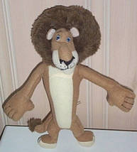 "Dreamworks Madagascar Lion Alex Plush 10"" Ready to Bring Lots of Play Ti... - $5.59"