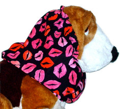 Dog Snood-Bright Bunches of Kisses Cotton-Spaniel-Basset-Afghan-Puppy RE... - $10.50