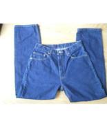 Men Levi Strauss Dark Blue Demin 505 Jeans W33 ... - $29.99