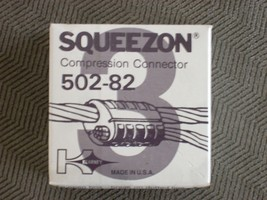 Brand NEW Kearney Squeezon Ultra Range 502-82 Compression Connector D or D3 Die - $4.94
