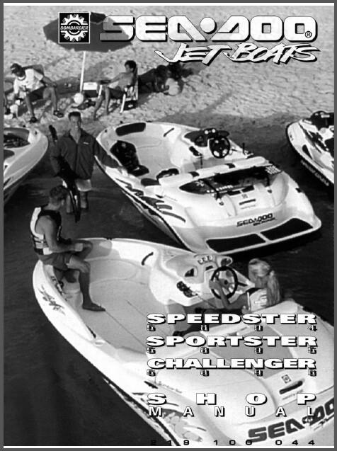 1996 sea doo sportster challenger speedster and 21 similar items rh bonanza com seadoo sportster 1996 manual 1996 Seadoo Speedster Specs
