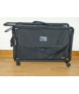 Tutto Pullman Collapsible Luggage On Wheels 20 Inch Black Laptop Case Tr... - $79.99