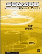 01-02 Sea-Doo Utopia 185 205 Jet Boat Service Repair Shop & Parts Manual CD - $12.00