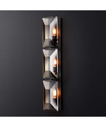 Restoration Harlow Crystal Linear Sconce E27 Light Wall Lamp Home Lighti... - $480.00